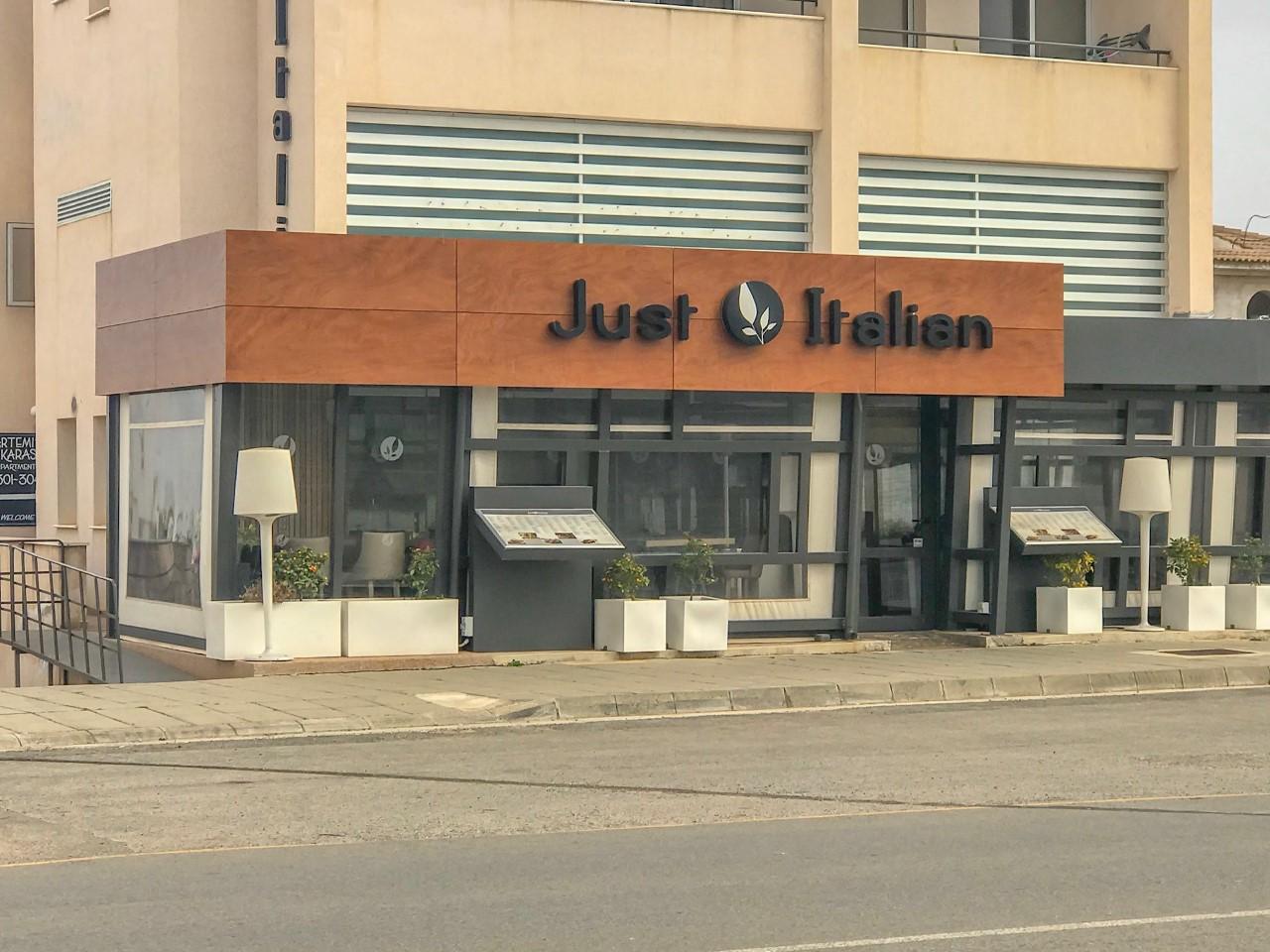 """Just Italian"" ресторан"