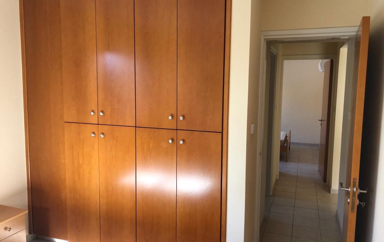 Встроенный шкаф во второй спальне