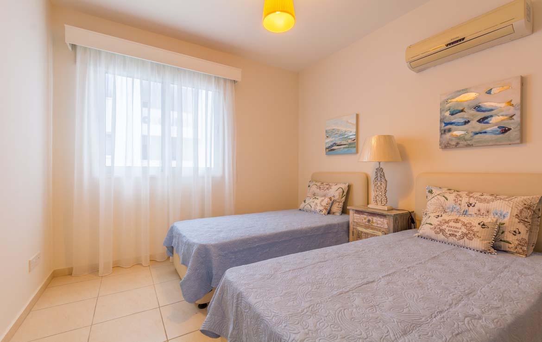 Вторая спальная комната в квартире в Ларнаке