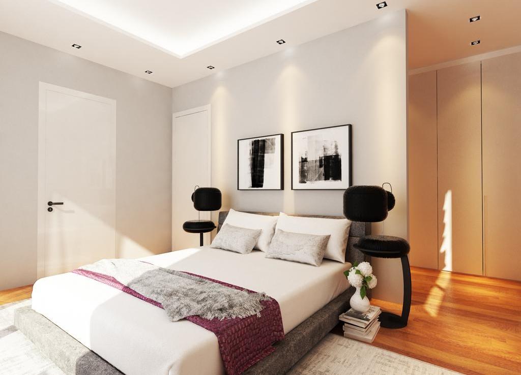 Спальня в вилле на продажу в Ливадье