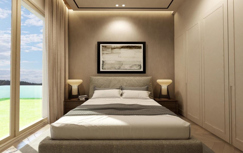 Спальня в доме на продажу