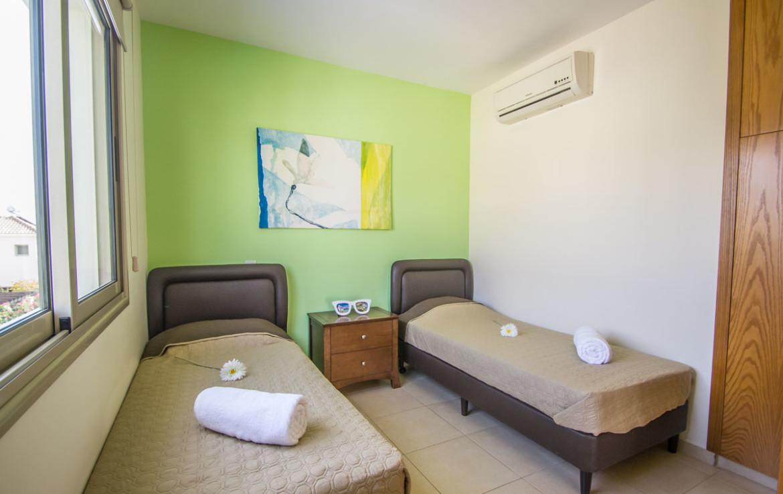 Спальня в доме в Пернере