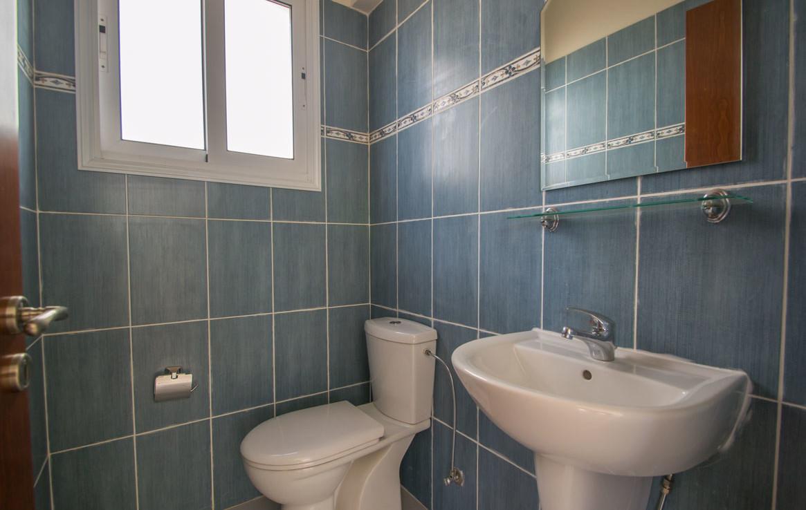 Гостевой туалет в доме на продажу