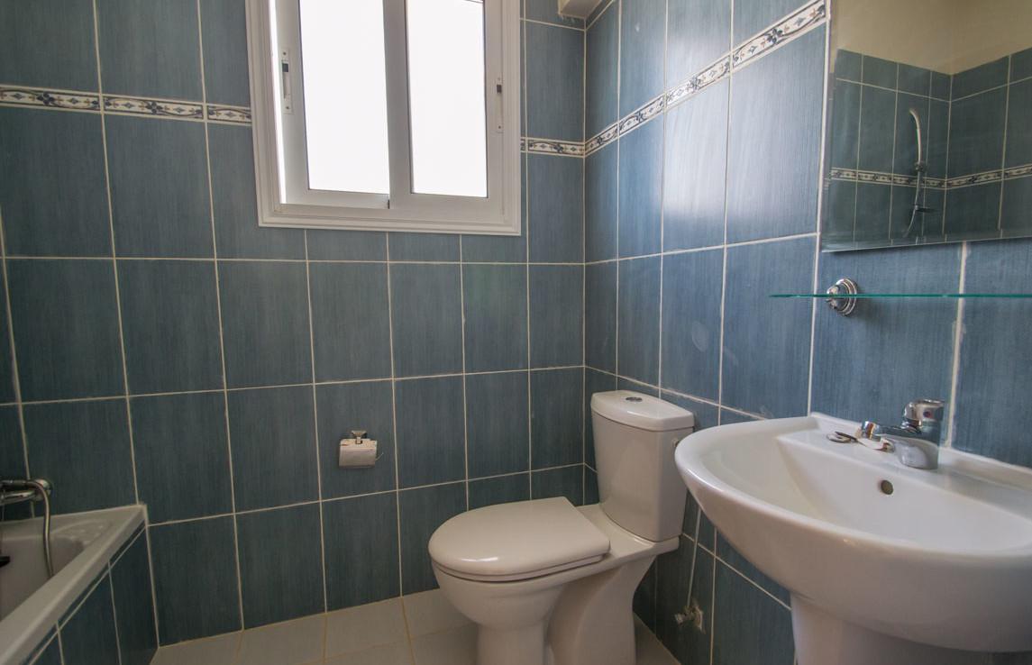Ванная комната в трехспальной вилле