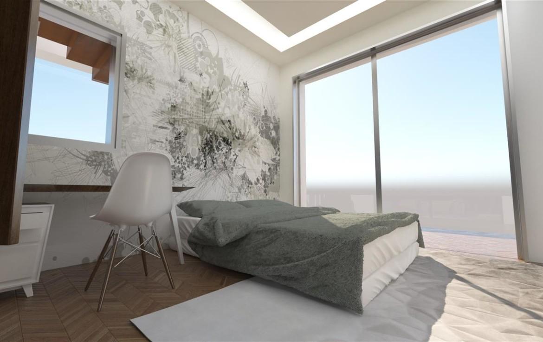 Спальня в новом доме на продажу
