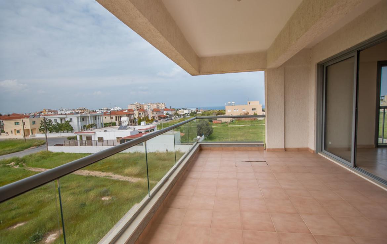 балкон в апартаментах в Паралимни