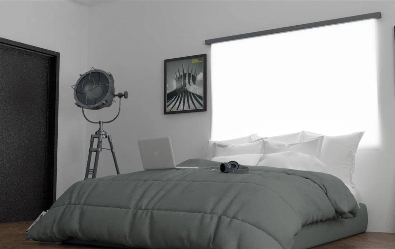 Спальня в доме на Кипре