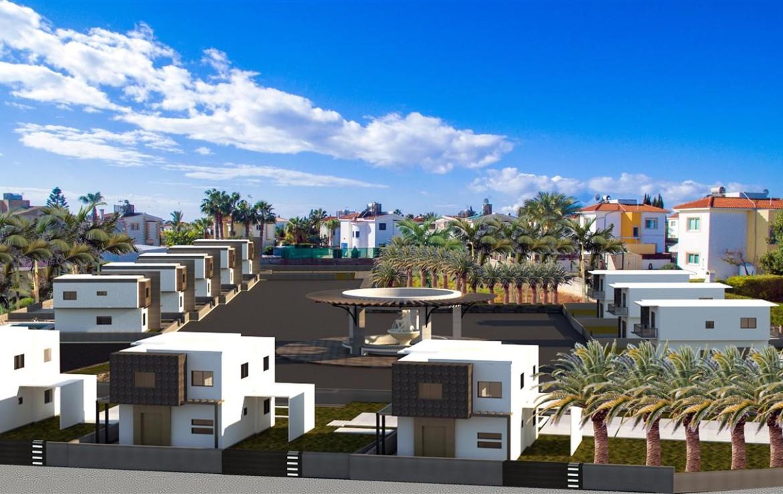 Новый комплекс домов на Кипре