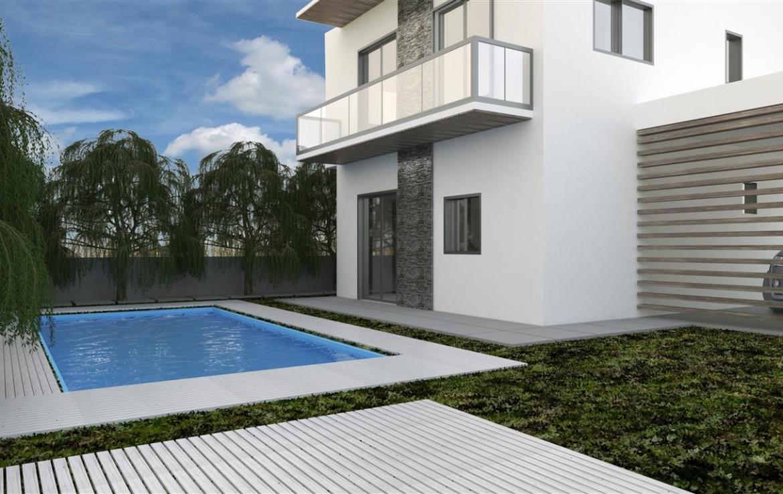Современные дома на Кипре