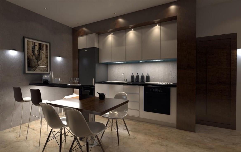 Кухня в трехспальной вилле во Френаросе