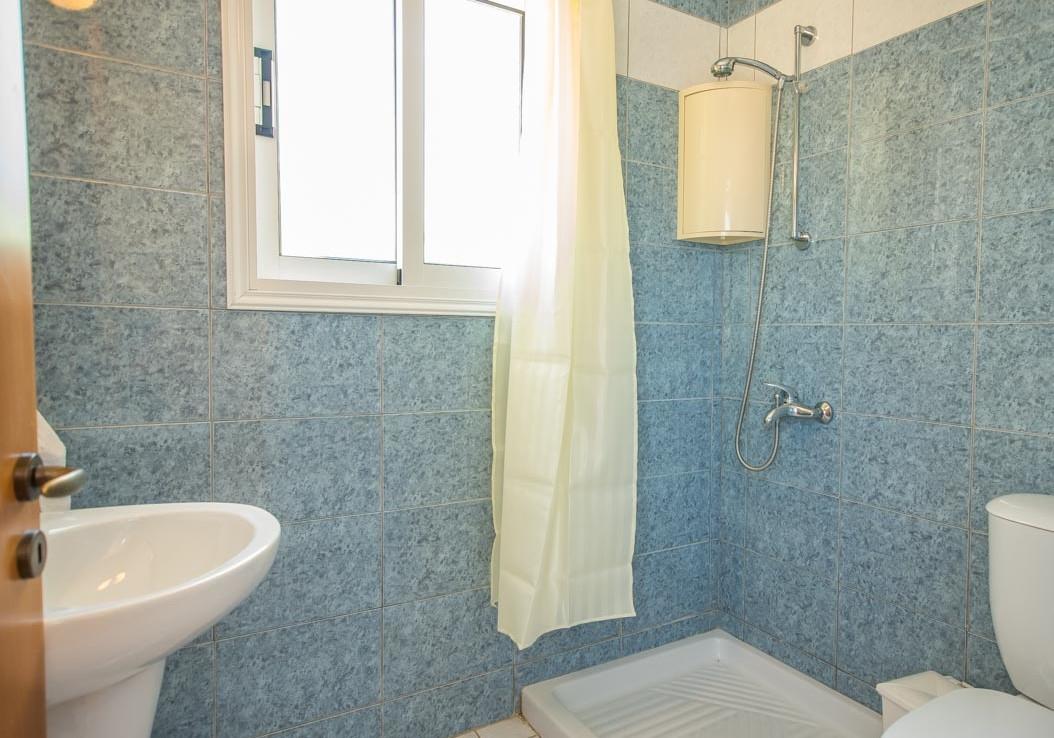 Гостевой туалет с душевой в доме