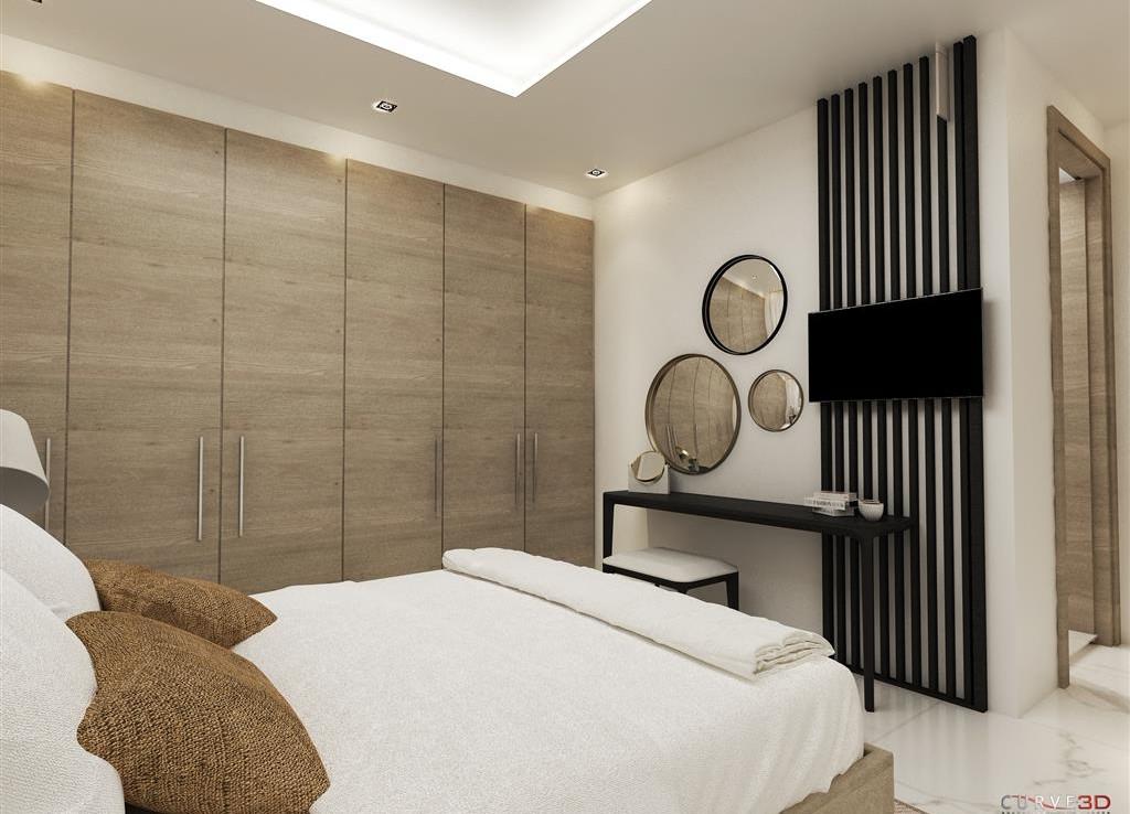 Спальня в квартире в Ларнаке
