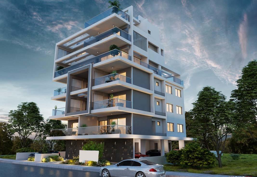 Купить двуспальную квартиру в Ларнаке