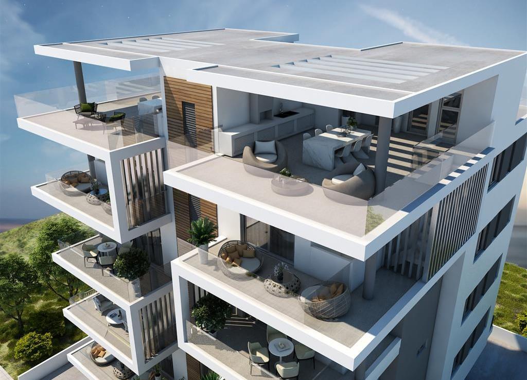 Новый проект квартир в ларнаке