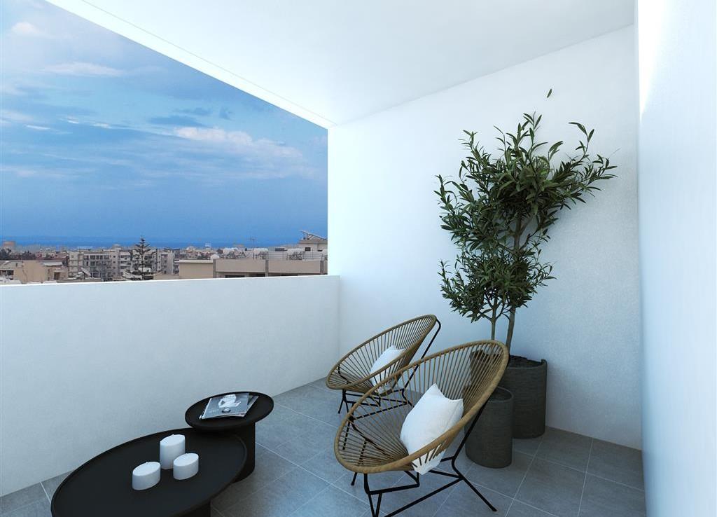 балкон в современной квартире