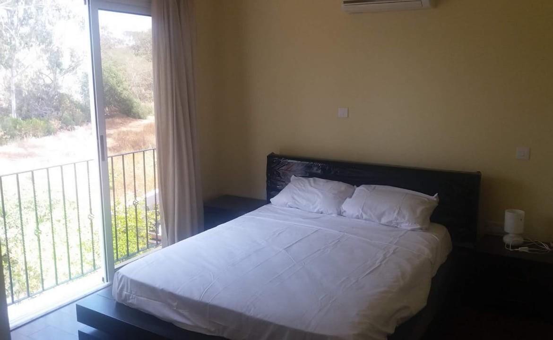 Одна из трех спален в доме