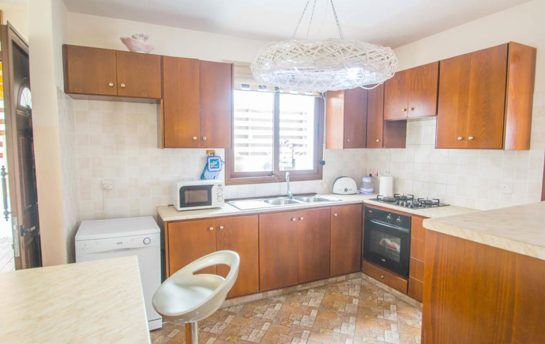 Кухня в доме в Пернере