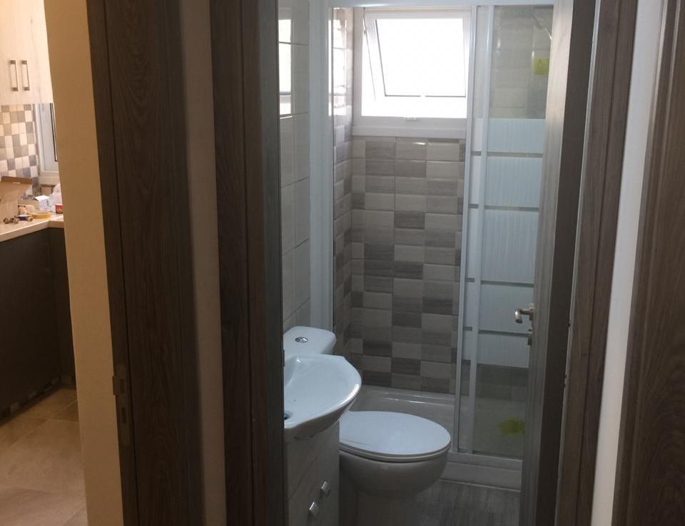 Ванная комната в апартаментах в Ларнаке