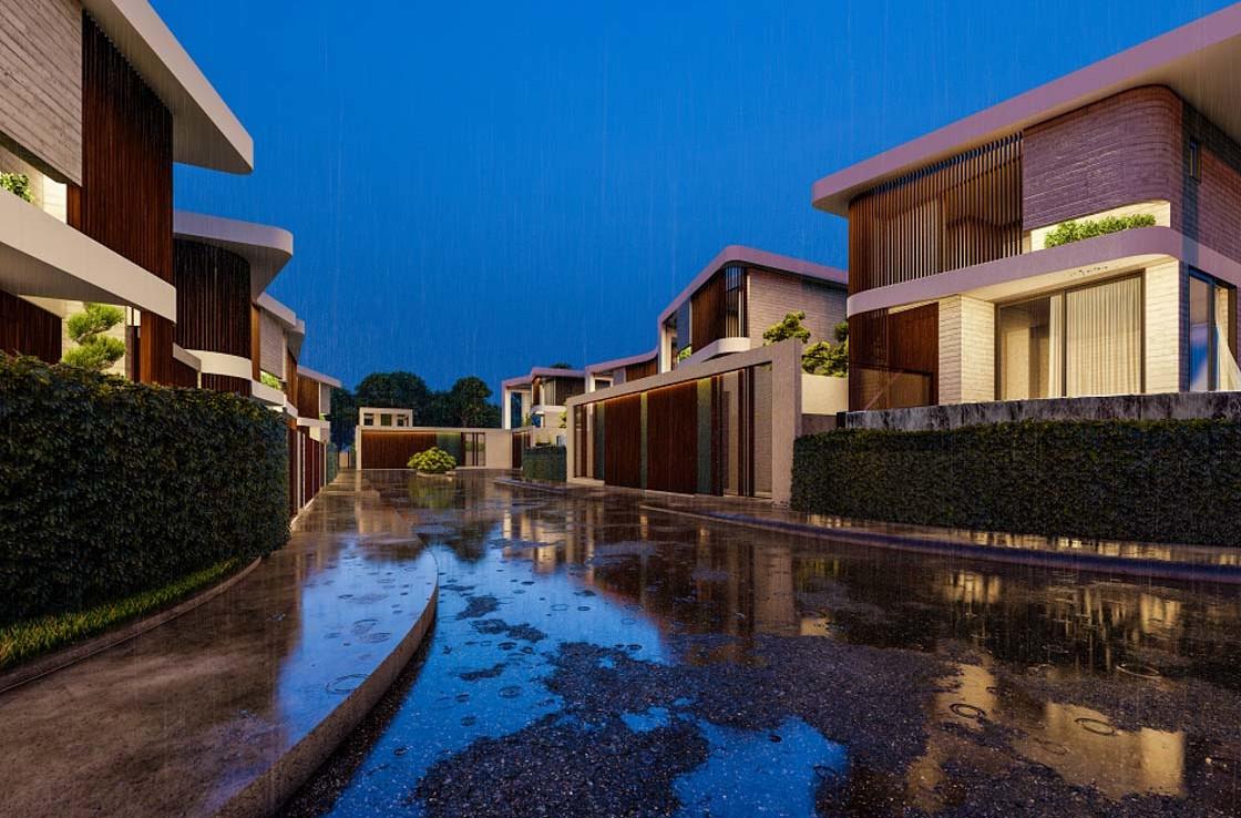 Новый комплекс домов в Айа напе