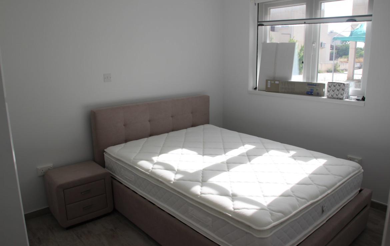 Спальня в апартаментах в Паралимни