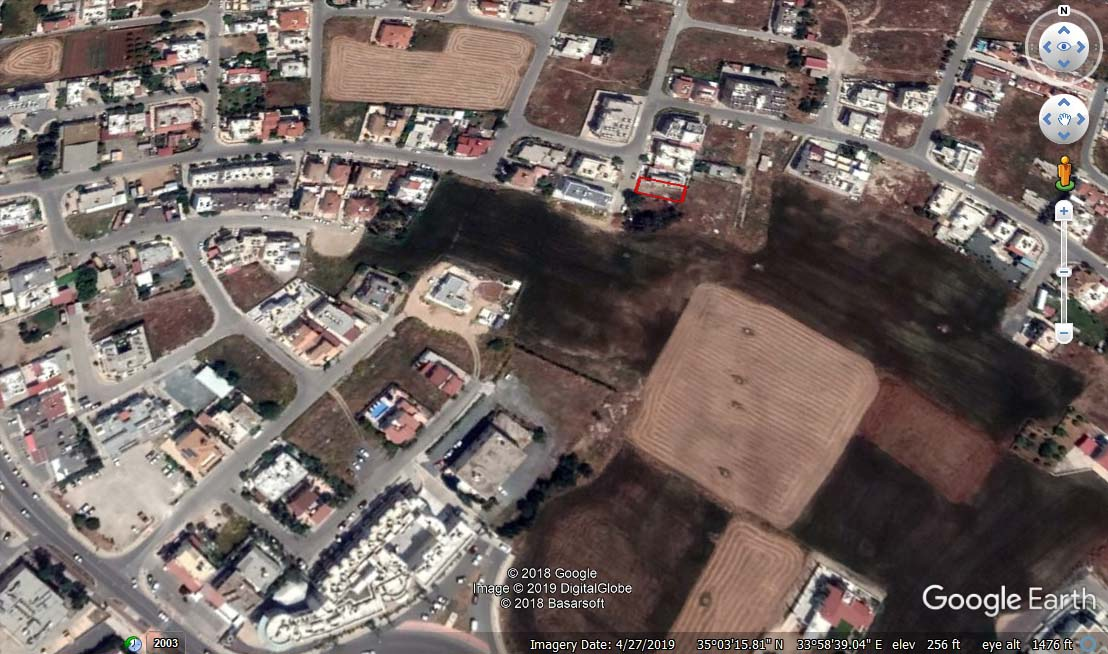 Земельный участок в Паралимни