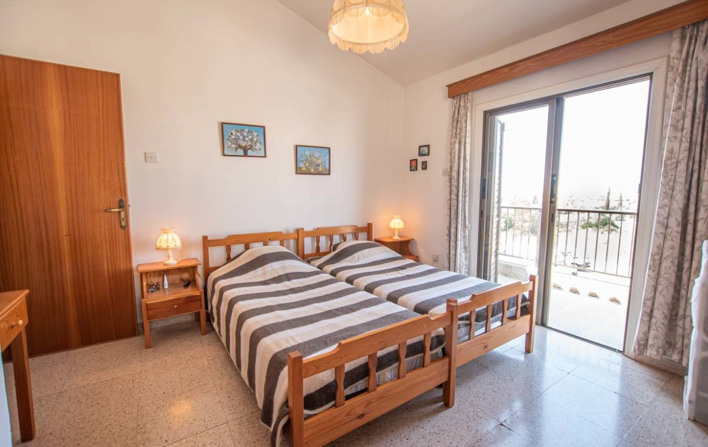 Спальня в апратаментах в Пернере