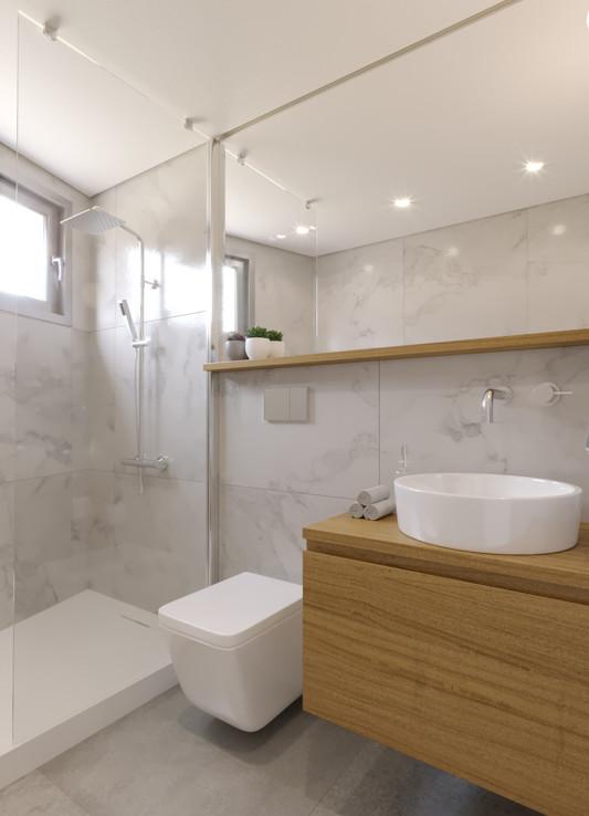 Ванная в новой квартире