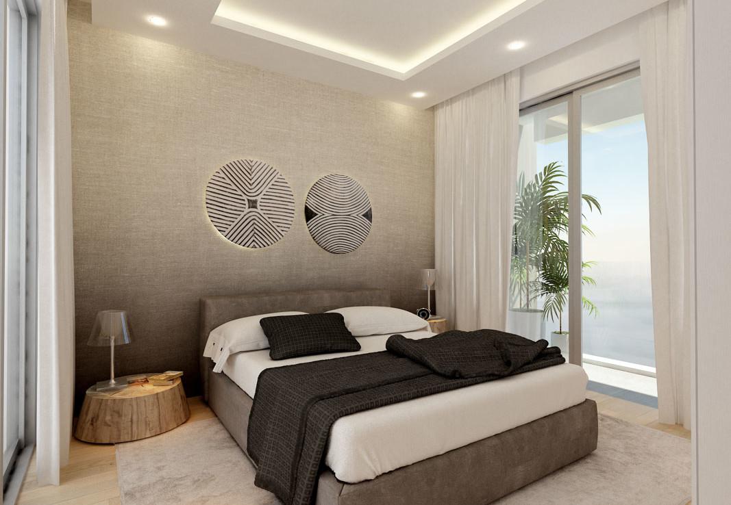 Спальня в доме в Протарасе