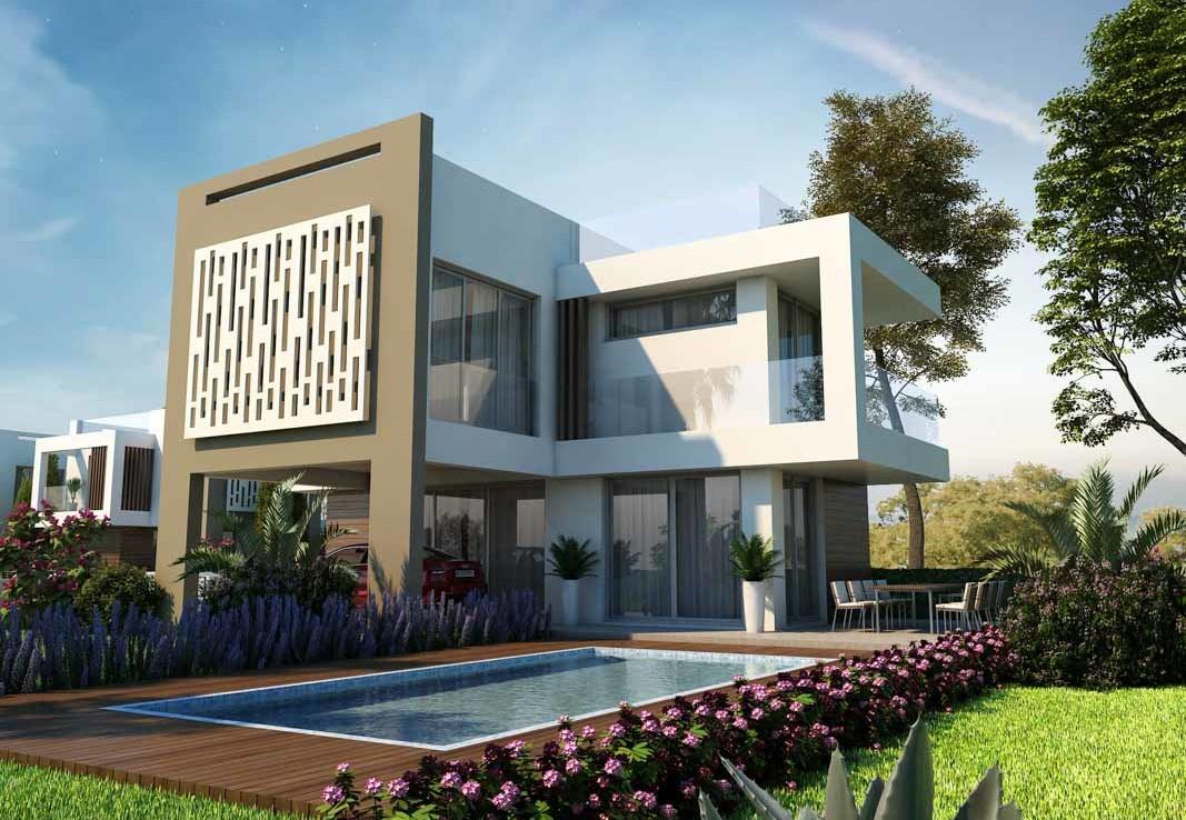 Купить дом с бассейном в Протарасе