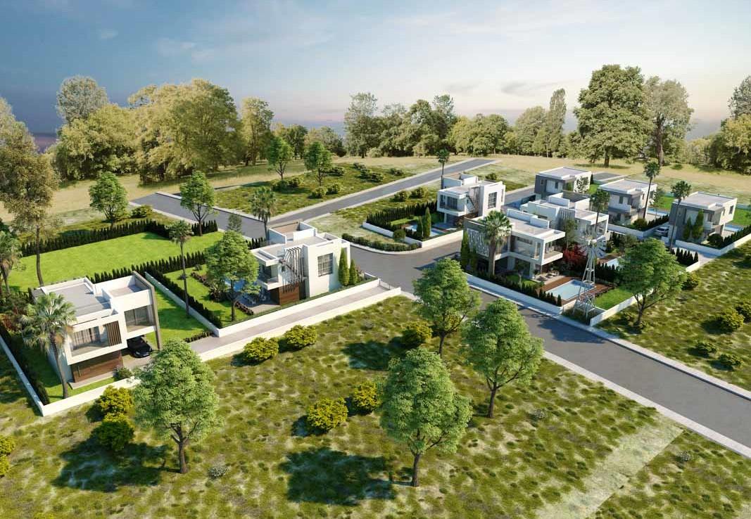 Новый проект домов в Протарасе