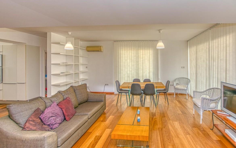 гостиная в квартире на Кипре