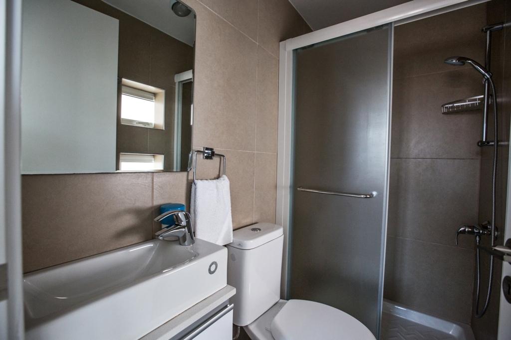 Ванная комната в вилле в Протарасе