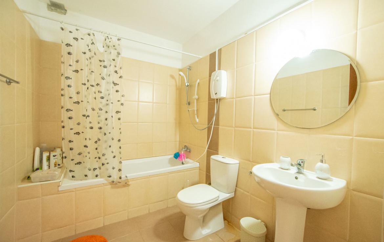 Ванная комната в односпальной квартире