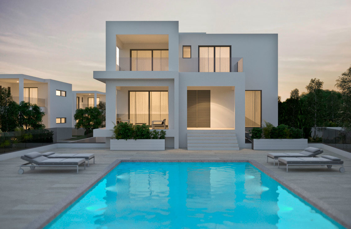 Элитные виллы на Кипре