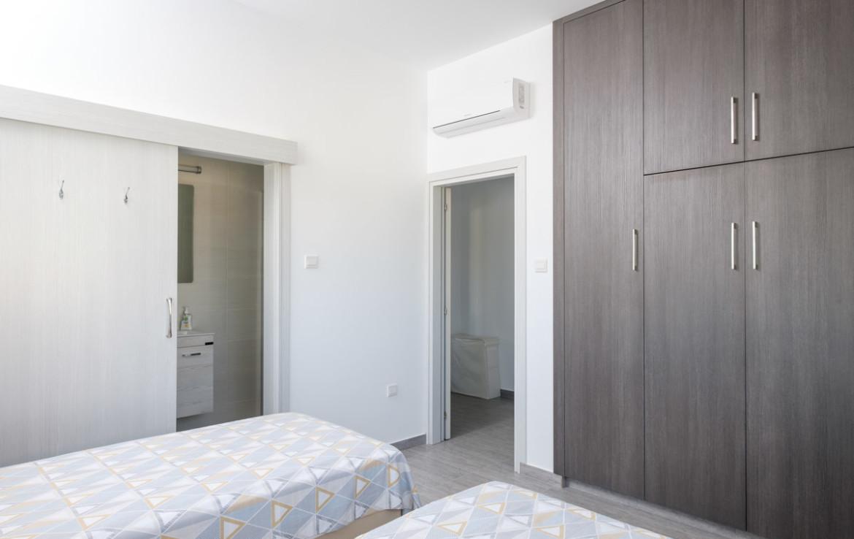 Спальня в бунгало во Врисуллес