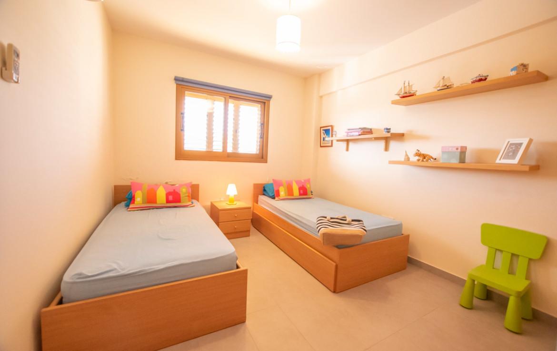 квартира в Паралимни - спальня