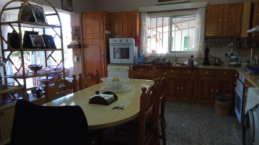 бунгало во Френаросе - кухня