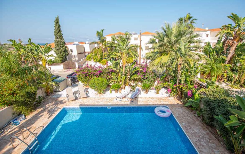Купить дом на Кипре - вид с балкона