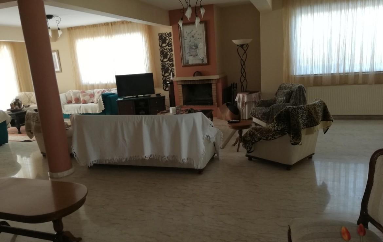 Гостиная в доме в Паралимни