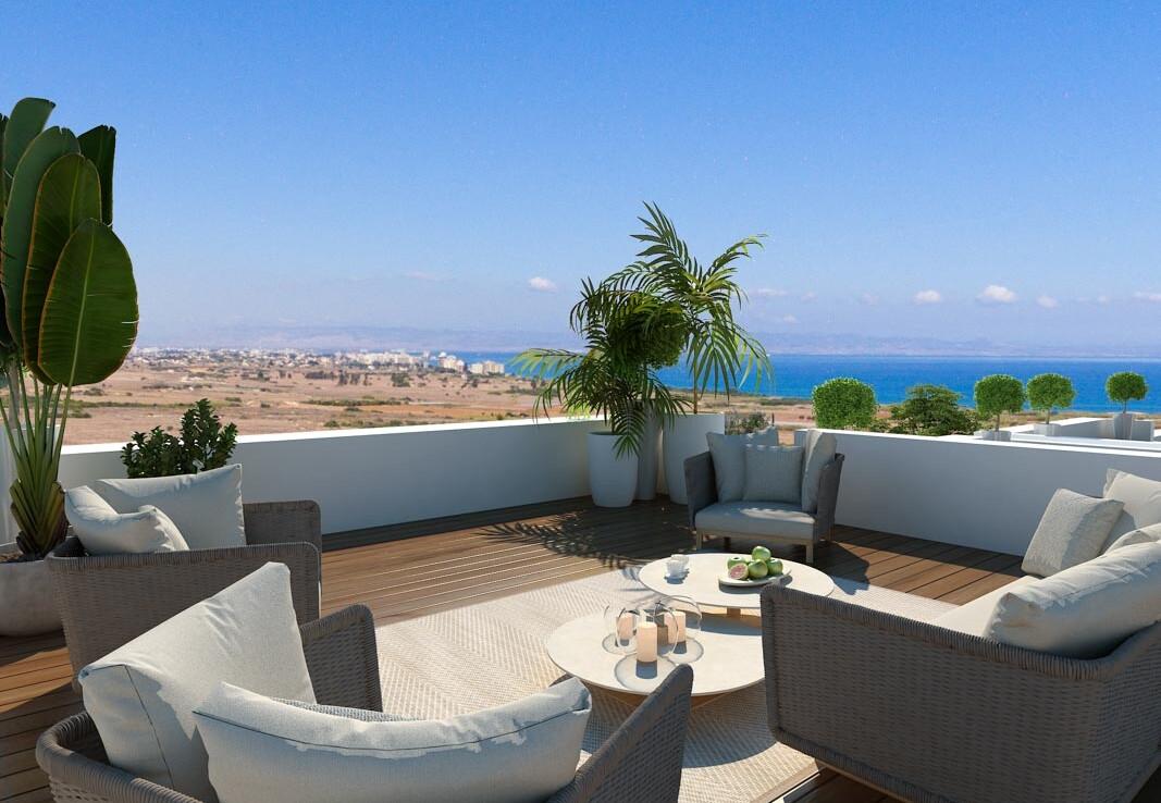 Новые апартаменты на Кипре - веранда