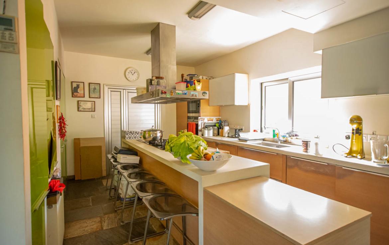 Вилла с видом на море - кухня