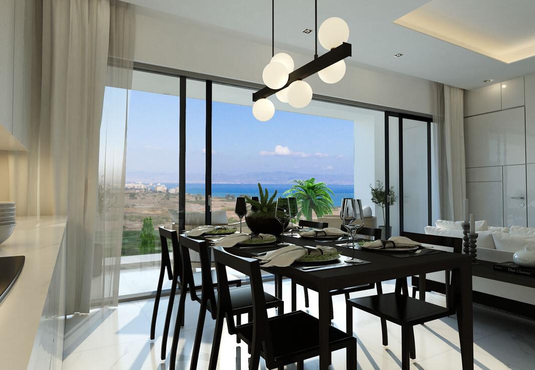 Новые апартаменты на Кипре - столовая