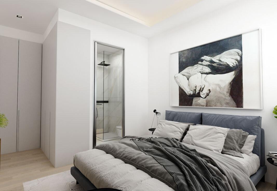 Новые апартаменты на кипре - спальня