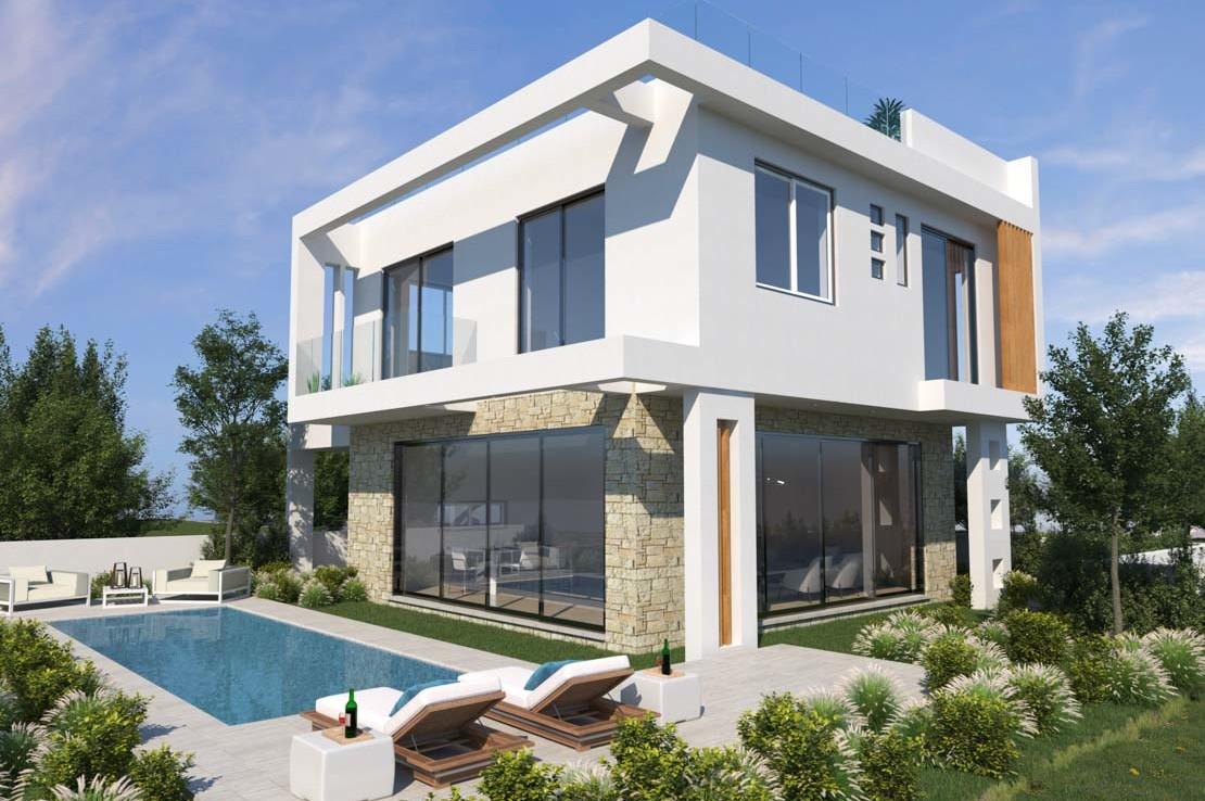 Кипр вилла с бассейном на продажу