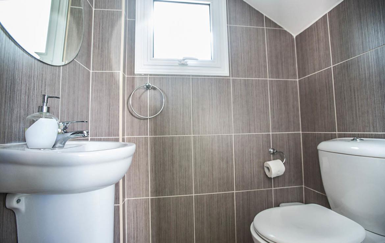 Виллы Пернера - гостевой туалет