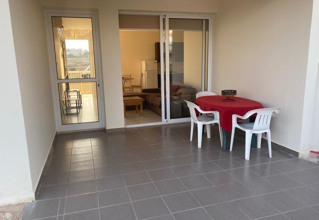 Квартира в Паралимни - веранда