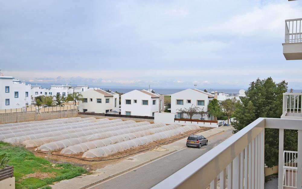 Кипр апартаменты у моря - вид на море