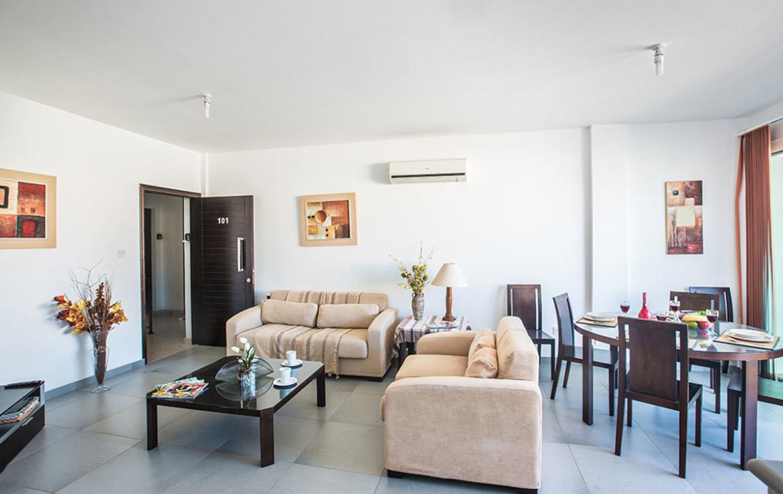 Апартаменты в Пернере - гостиная
