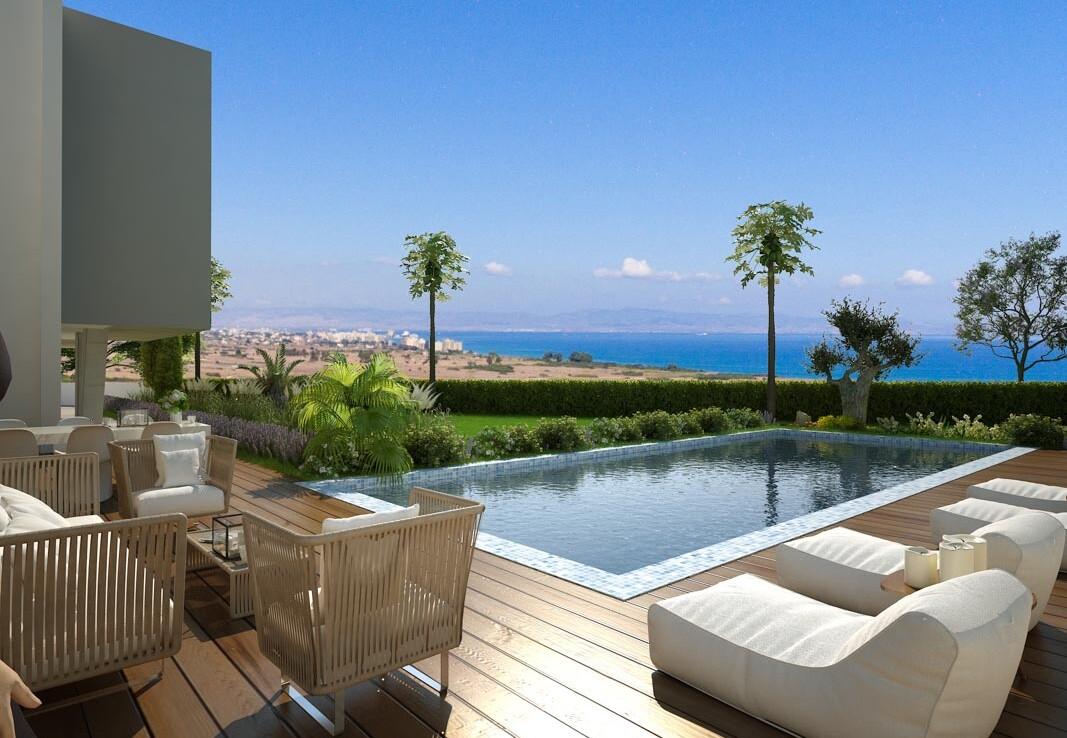 Новые апартаменты на Кипре - бассейн