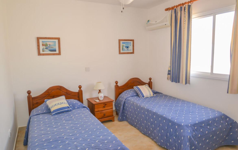 Апартаменты на Кипре - спальня